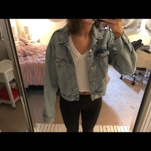 BDG cropped jean jacket